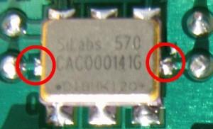 particolare saldatura Si570