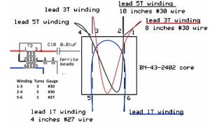 schema trasformatore T3
