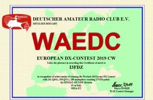 diploma wae cw 19