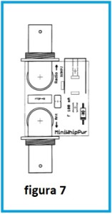 impronta superiore alimentatore fig 7