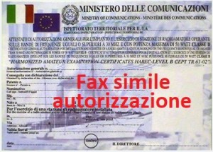 patente fax simile